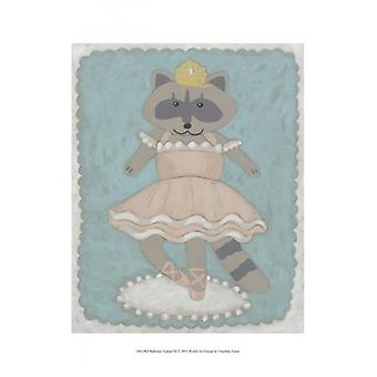 Ballerina Animal III Poster Print by Chariklia Zarris (10 x 13)