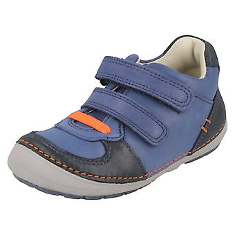 Boys First Shoes By Clarks Casual Trainers Softly Pow
