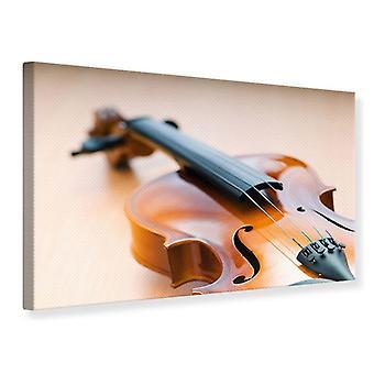 Lærred Print Violin