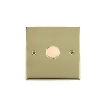Hamilton Litestat Cheriton Victorian Polished Brass 1g 200VA 2 Way Dimmer PB