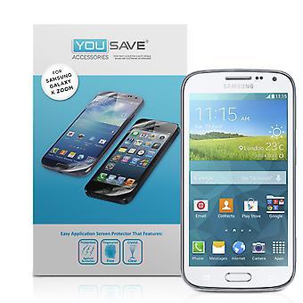 Samsung Galaxy K Zoom protetores de tela - 3 Pack