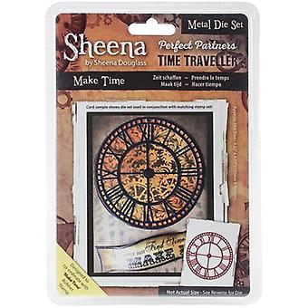 Sheena Douglass Perfect Partners Time Traveller Metal Dies-Make Time SDPPMD-MAKE