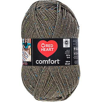 Red Heart Comfort Yarn-Moss Fleck E707D-5105