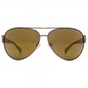 Guess Pilot Sunglasses In Brown - GU6830SI-48F63