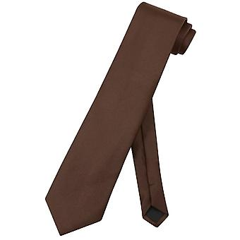 Vesuvio Napoli NeckTie Solid EXTRA LONG Men's XL Neck Tie