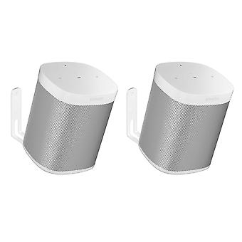 Vebos wall mount Sonos One white 20 degrees set
