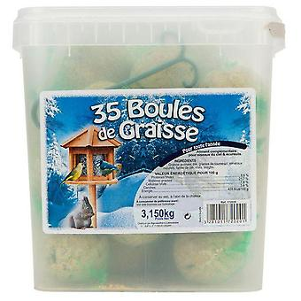 Agrobiothers Bucket Of 35 Suet Balls Odc (Birds , Toys)