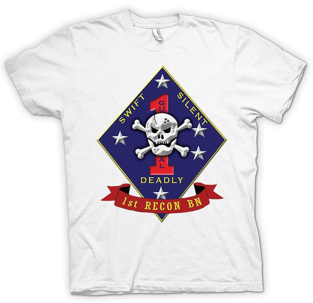 Womens T-shirt - Swift Silent Deadly - USMC Recon