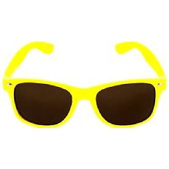 Yellow Neon Wayfarer Glasses