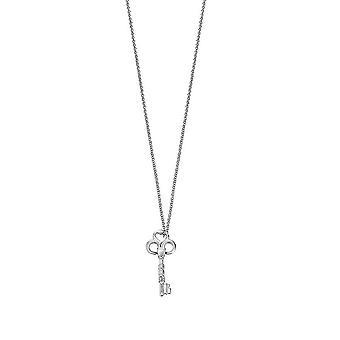 ESPRIT women's chain necklace silver love key ESNL92085A750