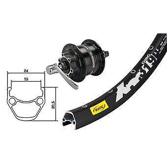 Диск колеса Mavic XM 319 29 частей велосипеда + концентратор Динамо DH - 3D 32 6-отверстие (QR)