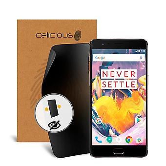 Celicious Privacy 2-Way Visual Black Out Screen Protector for OnePlus 3T