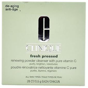 Clinique Fresh Pressed Renewing Powder Cleanser 28 x 0,5 gr