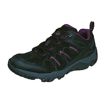 Womens Merrell Hiking Trainers Outmost Ventilator Walking Shoes - Black