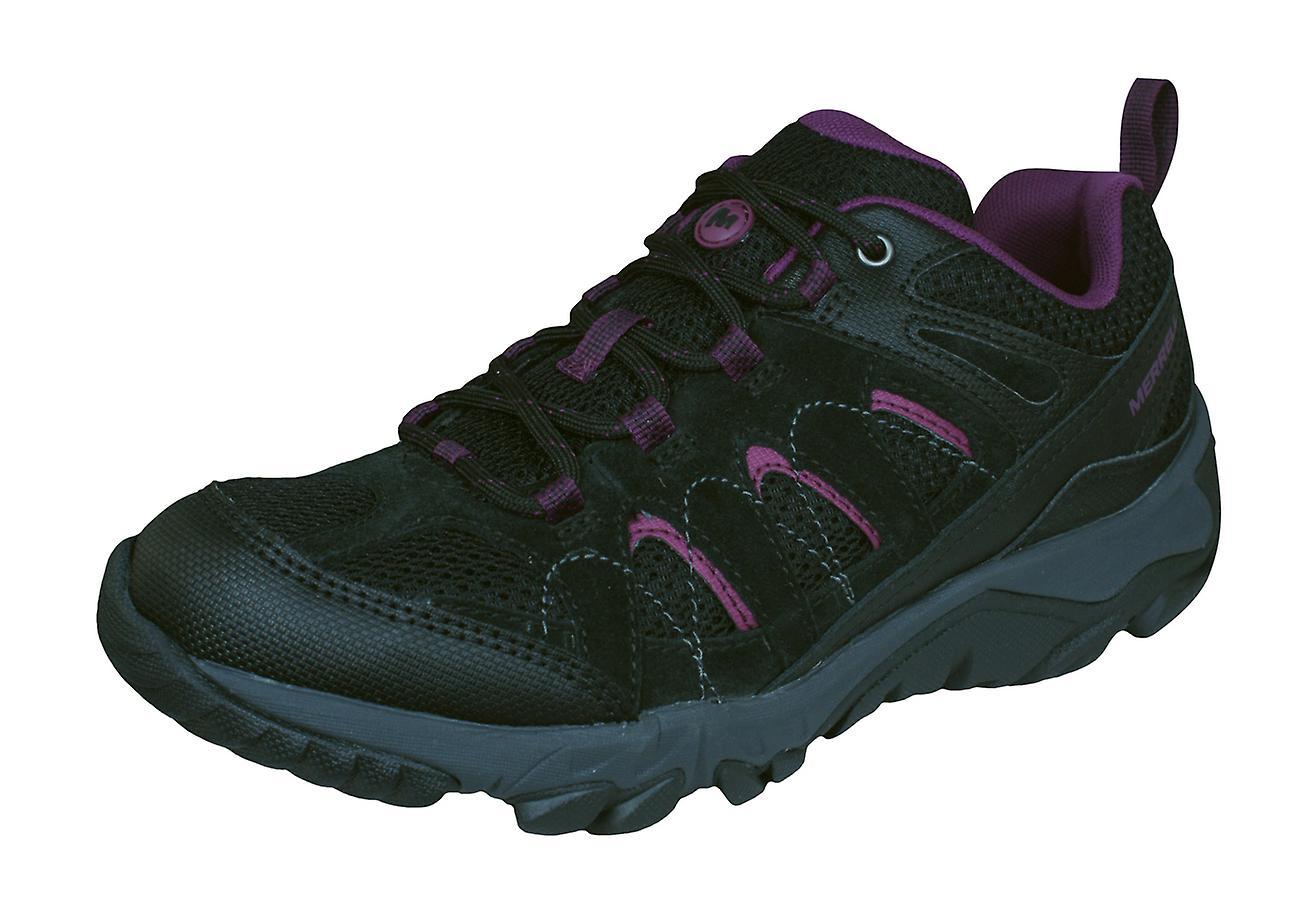femmes Merrell randonnée formateurs Outmost ventilateur marche chaussures - noir