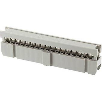 Pin connector Contact spacing: 2.54 mm Total number of pins: 10