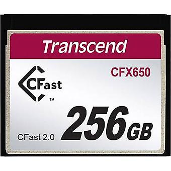 CFast® card 256 GB Transcend CFX650