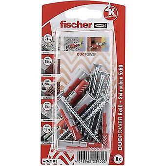 Taco Fischer sistema DUOPOWER 40 mm 535215 1 Set