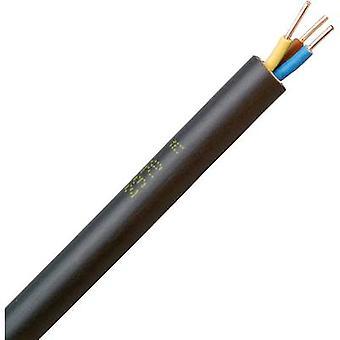 Earth cable NYY-J 3 G 1.50 mm² Black Kopp 153350847 50 m