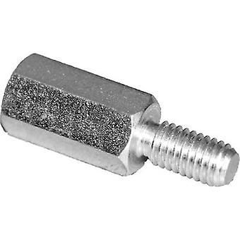 PB Fastener S45530X45 Spacer (L) 45 mm M3x7 M3x6 Steel zinc plated 10 pc(s)