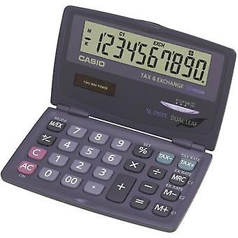 Pocket calculator Casio SL-210TE Anthracite Display (digits): 10