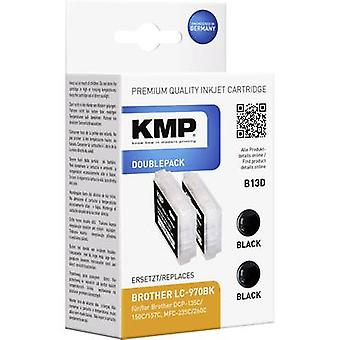 KMP Ink replaced Brother LC-970 Compatible Dual Bl