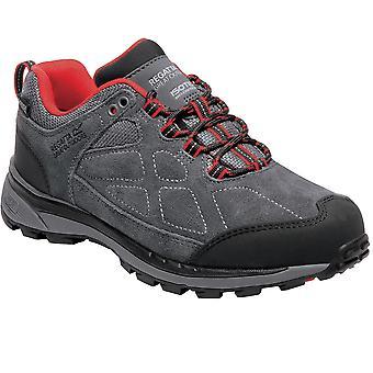 Regatta Womens/Ladies Samaris Suede Low Waterproof Fabric Hiking Shoes