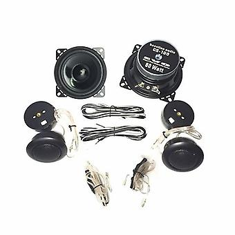 1 pair 100 mm 2-way COMPO System 80 watts Max, new