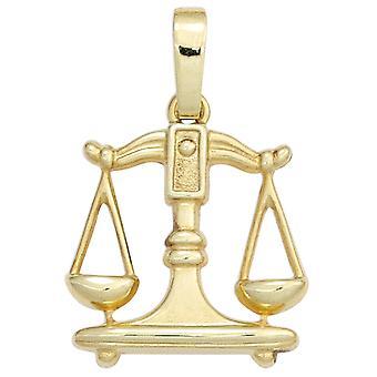 Знак зодиака Весы золотой кулон знак зодиака шкала 333 золото желтое золото