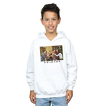 Friends Boys Group Photo Apartment Hoodie