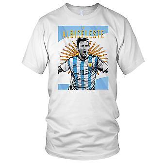 Lionel Messi Argentina fotball fotball Legend Kids T skjorte