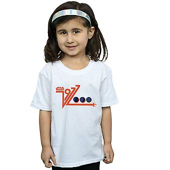 Star Wars ragazze retrò 1977 morte stelle t-shirt