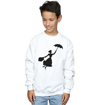 Disney Boys Mary Poppins Flying Silhouette Sweatshirt