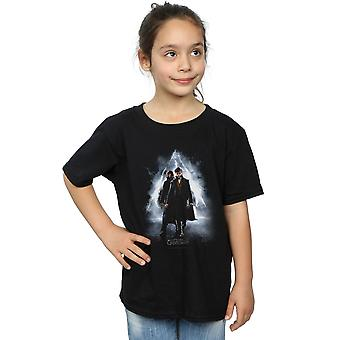 Fantastic Beasts 2 Girls Newt and Dumbledore Poster T-Shirt
