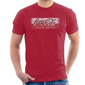 Coca Cola Georgia Stripe Men's T-Shirt