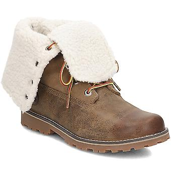 Timberland Shearling 6 Inch A1BXZ universal winter women shoes