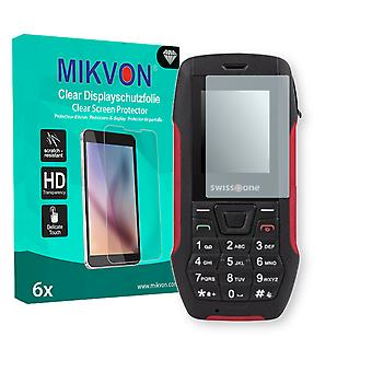 Swisstone SX 567 Screen Protector - Mikvon Clear (Retail Package with accessories)