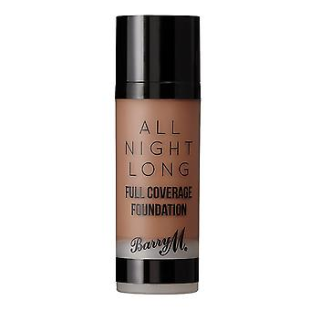 Barry M All Night Long Full Coverage Foundation - Fudge