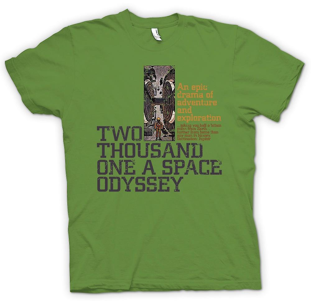 Heren T-shirt-2001 A Space Odyssey - Kubrick