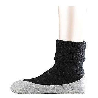 Pantofola Cosyshoe Falke calze - grigio antracite