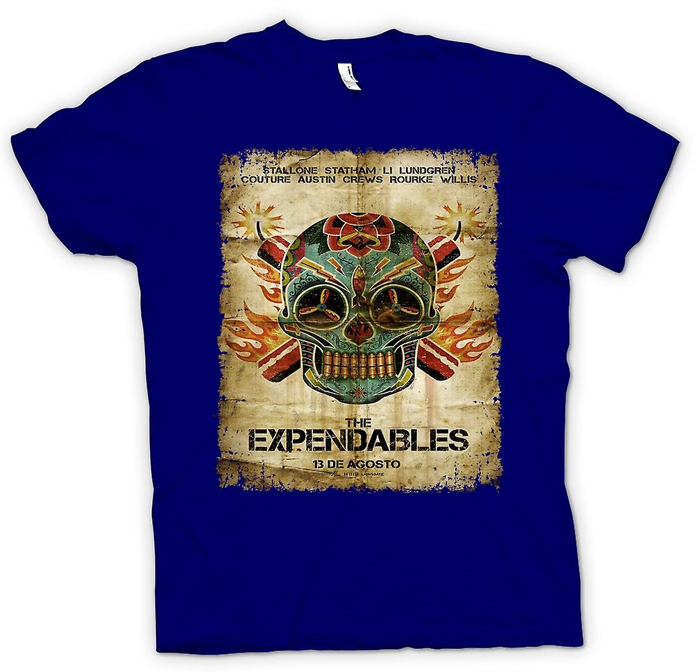 Mens T-shirt - The Expendables - B Movie - affisch