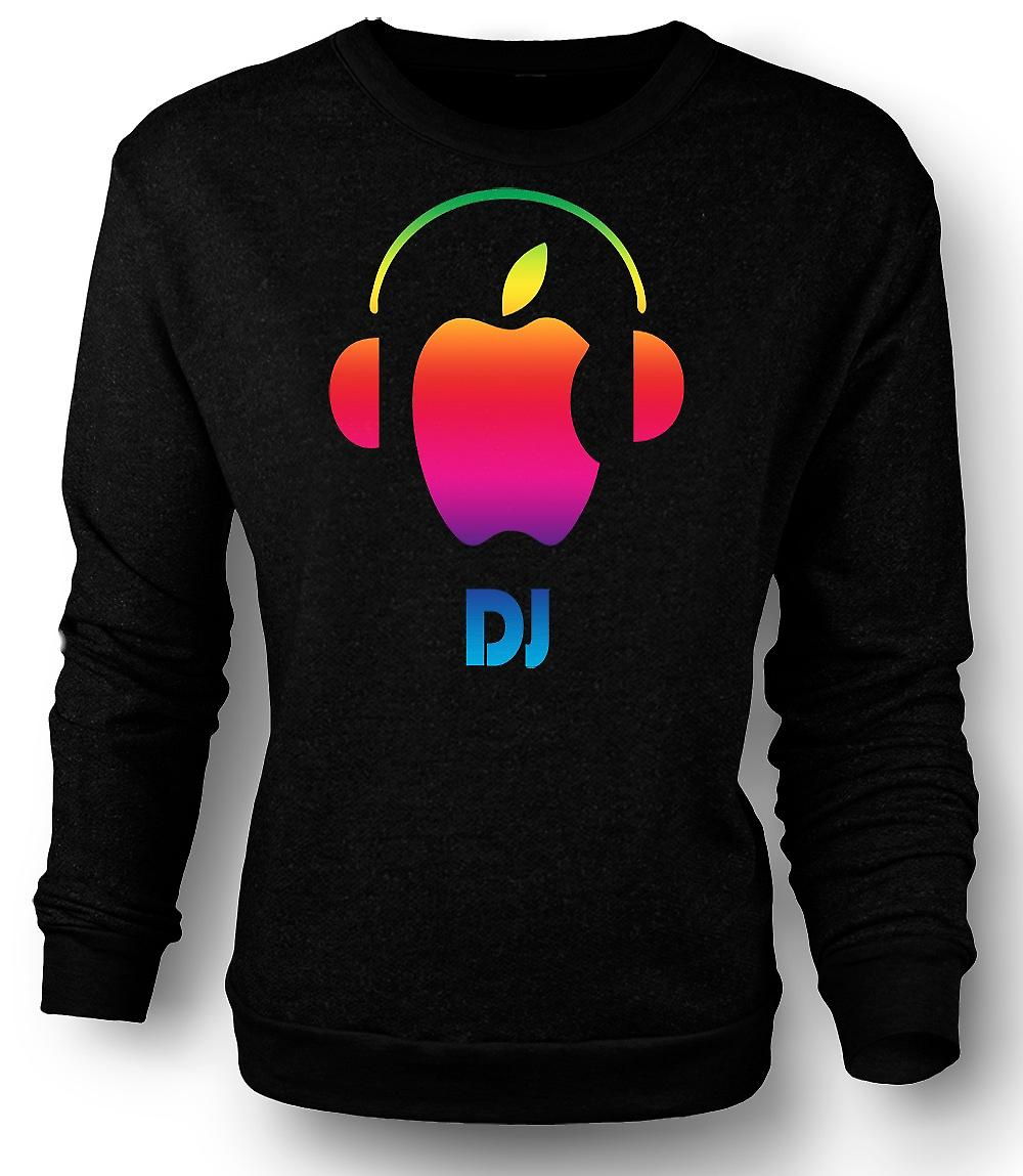 Mens Sweatshirt Apple - DJ hörlurar