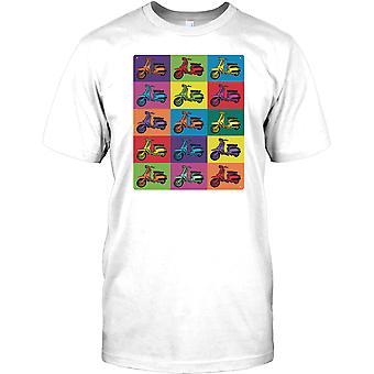 Lambretta Pop Art Design - Cool Scooter Kids T Shirt