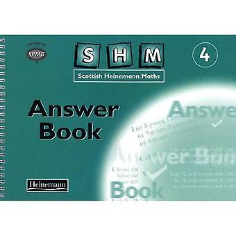 Scottish Heinemann Maths: 4 - Answer Book
