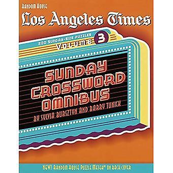 Lat Sunday Omnibus V3 Crosswrd (Los Angeles Times Sunday Crossword Omnibus)