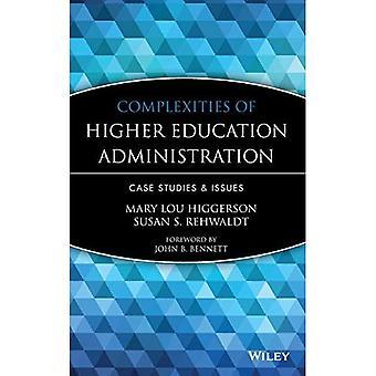 Complexidades da administração de ensino superior: estudos de caso e questões