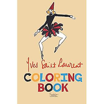 Yves Saint Laurent Coloring Book