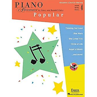 Piano Adventures - Student Choice Series: Popular Level 4