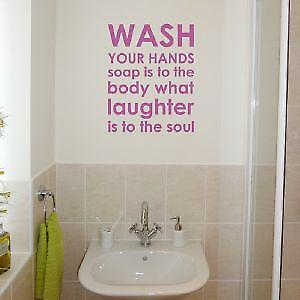 Bathroom Rules - Wash Wall Sticker