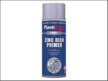 Plasti-kote Industrial Primer Spray Zinc Rich 400ml